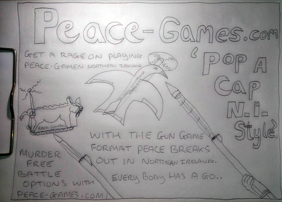 peace breaks out, peace games, northern ireland